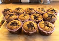 Csokis-banános muffin🍌 | Mrs.raft receptje - Cookpad receptek Cheesecake Pops, Breakfast Recipes, Dessert Recipes, Yummy Mummy, Love Food, Keto Recipes, Food Porn, Food And Drink, Sweets