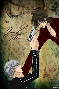 Vampire Knight's Zero and Kaname