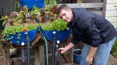 Hayden and aquaponics.