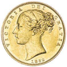 Victoria 1837 - 1901, Sovereign 1852 Gold
