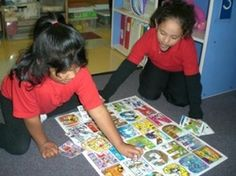 Multi-Letter Poster Large  Letter Matching /Alphabet Sequence