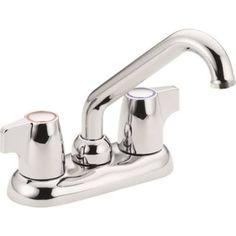 Utility tub faucet_Moen chateau 74998