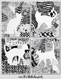FruBilledkunst Doodle   cats - 4th grade
