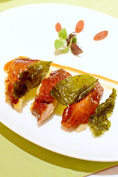 京典茶皇雞 Tea-smoked Crispy Chicken @ Wynn Macau Hotel Wing Lei