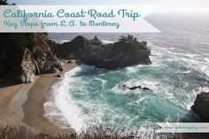 Must-see (and must-eat) stops when driving up California's Central Coast on Pacific Coast Highway through Big Sur. Visit www.fabeveryday.com for this list and more travel tips for the everyday adventurer.