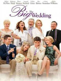 The Big Wedding - To the amusement of their adult children and friends, long divorced couple Don and Ellie Griffin are once again forced to play the happy couple for the sake of their adopted son's wedding after his ultra conservative biological mother unexpectedly decides to fly halfway across the world to attend.