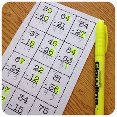 """Regrouping.... Highlight when """"there is more on the floor"""" or """"when the number's the same"""""""