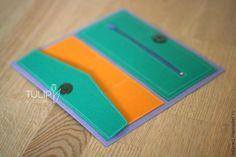 Шьем кошелечек из фетра - Ярмарка Мастеров - ручная работа, handmade