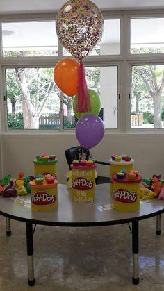 Playdoh party decoration