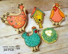 Chickens by Jill FCS