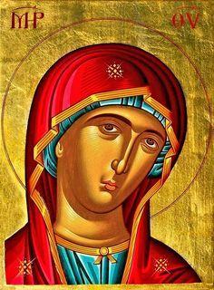 Baby Food Jar Crafts, Baby Food Jars, Orthodox Icons, Virgin Mary, Princess Zelda, Faith, Artwork, Fictional Characters, Saints