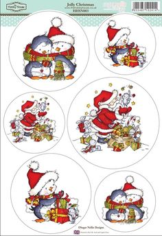 Sugar Nellie Designs die cut topper collection by the Hobby House - Jolly Christmas