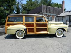 1947 Ford Woodie Wagon...