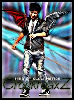 Crockroaxz....the king of slow motion :) - Digital Art by Satya Yadav at touchtalent 10418