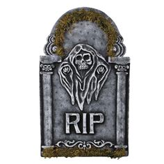 """Decorate The Holidays - 3 - Tombstone Reaper 22"""", $26 (http://www.decoratetheholidays.com/tombstone-reaper-22-x-16-x-1/)"""