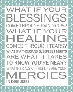 """""""Blessings"""" by Laura Story"""