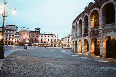 Di mattina presto all'#Arena di #Verona [foto di Alba Rigo]