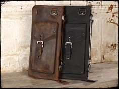 Leather Drum Stick Bag, The Seville by Anthology Gear Wear