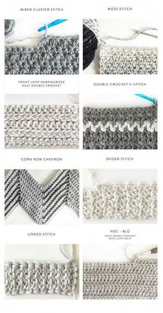 40 Free Crochet Stitches from Daisy Farm Crafts (zig zag stitch) 40 kostenlose Häkelstiche von Daisy Farm Crafts Source by ADS Learn how to crochet the Herringbone Half Double Crochet Stitch! A beautiful and simple stitch for baby blankets! Crochet Unique, Crochet Simple, Crochet Diy, Crochet Crafts, Double Crochet, Single Crochet, Crochet Projects, Vintage Crochet, Craft Projects