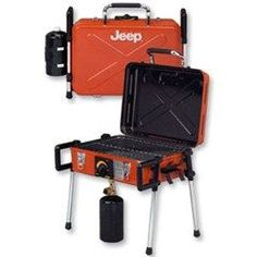 Jeep Rugged Portable Gas Grill for Tailgating & Camping