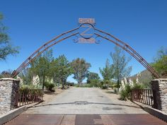 The entrance to Circle Z Ranch in Patagonia, Arizona - http://on.fb.me/13cydBt