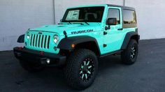 Tiffany Blue Jeep Would be beautiful with all accents in brushed chrome! Description from pinterest.com. I searched for this on bing.com/images