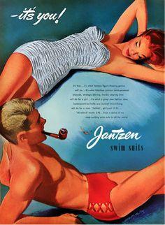 "PG193 ""Jantzen Advertisement"" Poster by Pete Hawley (1953)"