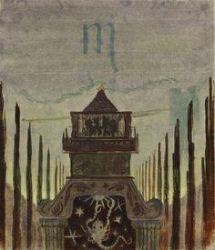 The Sun is Passing the Sign of Scorpio, Mikalojus Ciurlionis, ca. 1907.