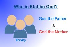 Christ Ahnsahnghong, Holy Spirit, is our God Father! And the Bride is our God Mother!