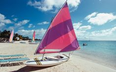 Antigua, Romance is in the air, and you can make a different beach your own every day of your Antigua honeymoon. The shoreline is dotted with 365 safe harbors, and stretches of white sand bordered by turquoise waters. It is a world class center for yachting and offers honeymooners from throughout the world