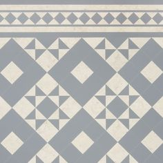 Geo Ecru - A Beautiful Victorian-inspired design floor in Amtico Signature LVT for your home - Luxury Vinyl Flooring & Tiles Hall Flooring, Grey Flooring, Kitchen Flooring, Flooring Tiles, Floors, Kitchen Tile, White Kitchen Floor Tiles, Hall Tiles, Trends 2018