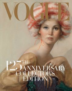 Art of the 21st Century:  #jenniferlawrence Jennifer Lawrence's New Vogue Cover: a John Currin Painting - The New York Times