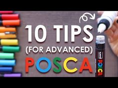 If you've already learned the basics on how to use Posca Pens, here are a few extra tips like how to create a gradient, shade, and refill your Posca Pens! Paint Pens, Paint Markers, Copic Markers, Cool Artwork, Amazing Artwork, Marker Storage, Posca Art, Anatomy Art, Zen Doodle