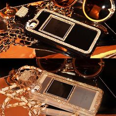 Diamond Crystal Perfume Bottle Cover Case for Apple 4.7 iPhone 6 / 6 Plus 5.5 #FashionMobilePhoneAccessories