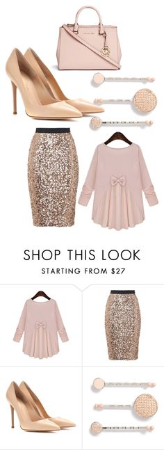 """""""Church outfit"""" by pentecostalgirl1234 ❤ liked on Polyvore featuring French Connection, Gianvito Rossi, Marc by Marc Jacobs and Michael Kors"""