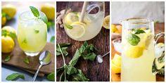 Osvěžující domácí limonády, které musíte vyzkoušet!