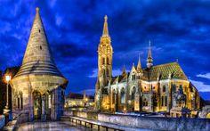 Halászbástya és Mátyás templom