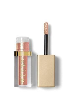 stila Glitter and Glow Liquid Eye Shadow Enchantress >>> See this great product. (This is an affiliate link) Liquid Eyeshadow, Glitter Eyeshadow, Makeup Eyeshadow, Eyeliner, Stila Glitter And Glow, Stila Cosmetics, Glam Makeup, Gold Pearl, Wow Products