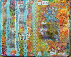 Frieda Oxenham: The Stencilfied Journal Prompt Seven