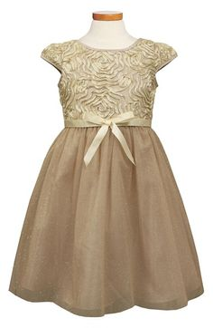 Sorbet Soutache & Glitter Tulle Dress (Toddler Girls & Big Girls) available at #Nordstrom