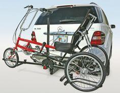Recumbent and Trike Sport Rider Accessories, bike racks, bicycle carriers Bicycle Rack, Baby Strollers, Sports, Hollywood, Accessories, Baby Prams, Hs Sports, Strollers, Sport