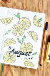 45 Best August Monthly Cover Ideas For Summer Bujos Check out these super cute AUGUST bullet journal monthly cover ideas! 45 Best August Monthly Cover Ideas For Summer Bujos Check out these super cute AUGUST bullet journal monthly cover ideas! Bullet Journal Headers, Bullet Journal Cover Ideas, Bullet Journal Banner, Bullet Journal Notebook, Bullet Journal Aesthetic, Bullet Journal School, Journal Covers, Bullet Journal Inspiration, August Bullet Journal Cover