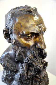 Auguste Rodin par Camille CLAUDEL (1864-1943) en 1888-89. Bronze, fonte par F. Rudier. Musée Camille Claudel à Nogent-sur-Seine. Photo : Hervé Leyrit ©