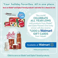 Walmart/The Valpak Holidays Are Better Together Sweepstakes