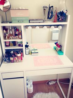 My favorite place in the house! Makeup room design ideas!