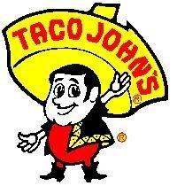 Classic racist Taco Johns mascot