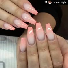 47 Most Amazing Ombre Nail Art Designs Nageldesign, , 47 Most Amazing Ombre Nail Art Designs 47 erstaunlichsten Ombre Nail Art Designs Ongles. Fabulous Nails, Gorgeous Nails, Pretty Nails, Fancy Nails, Love Nails, My Nails, Ombre Nail Designs, Nail Art Designs, Nails Design