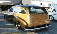 Custom Woodie Wagon