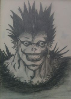 Ryuk, Death Note. By: Mo Scarlet