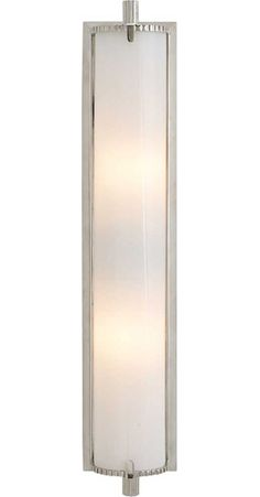 2 above master bath vanity (horizontal) CALLIOPE BATH LIGHT